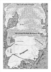 Map dragania and Tir Pect places